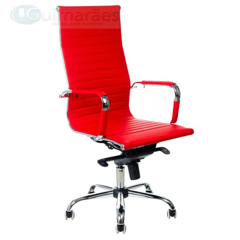 Cadeira Charles Eames Presidente Esteirinha